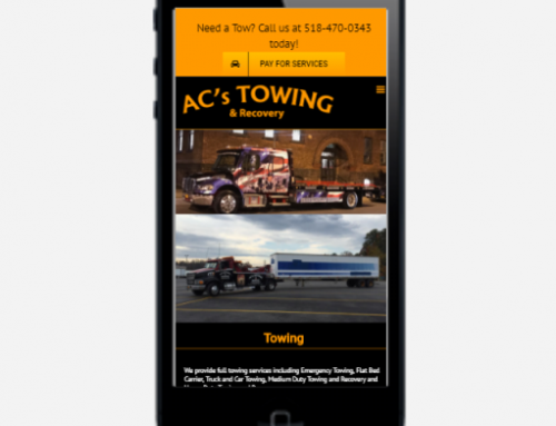 Capital ePay Launched AC's Towing & Recovery's Online Payment System