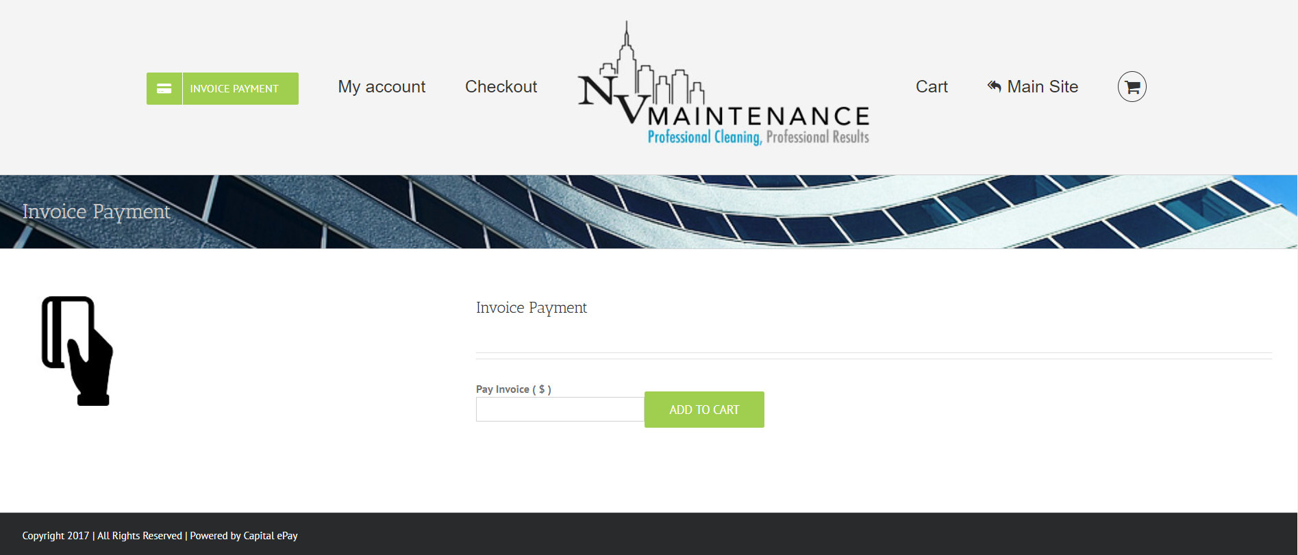 Capital EPay Launched NV Maintenance Invoice Payment System - Invoice payment system