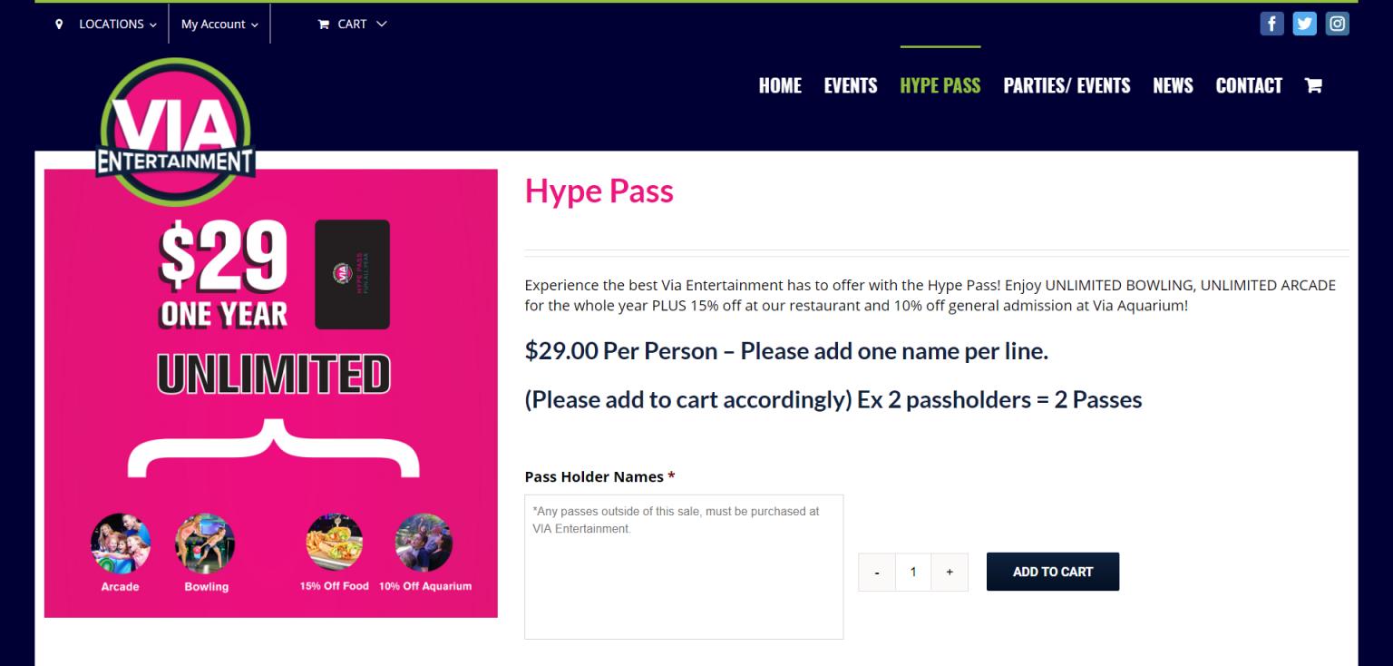 VIA Entertainment Capital ePay e-commerce Payment Gateway