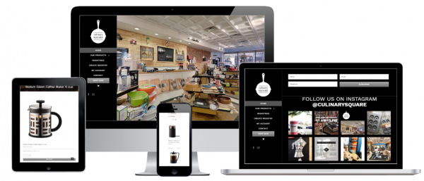 Culinary Square Troy, NY WordPress WooCommerce Credit Card Payment Gateway