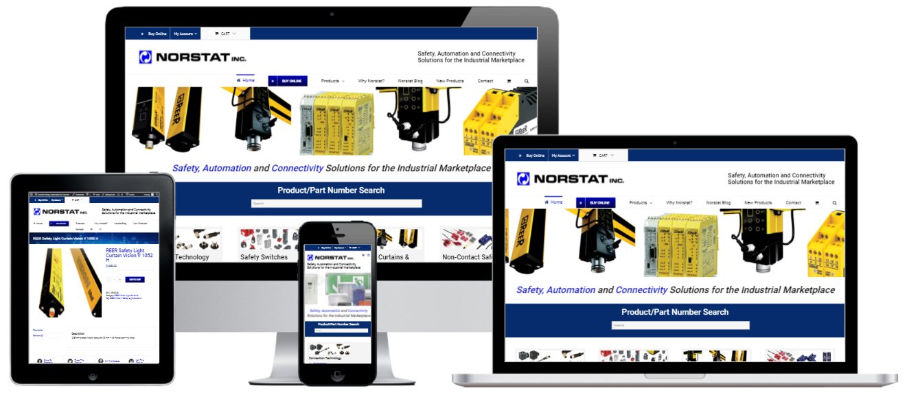 Norstat Online Store Website Design - Capital ePay WooCommerce Credit Card Payment Gateway Plugin