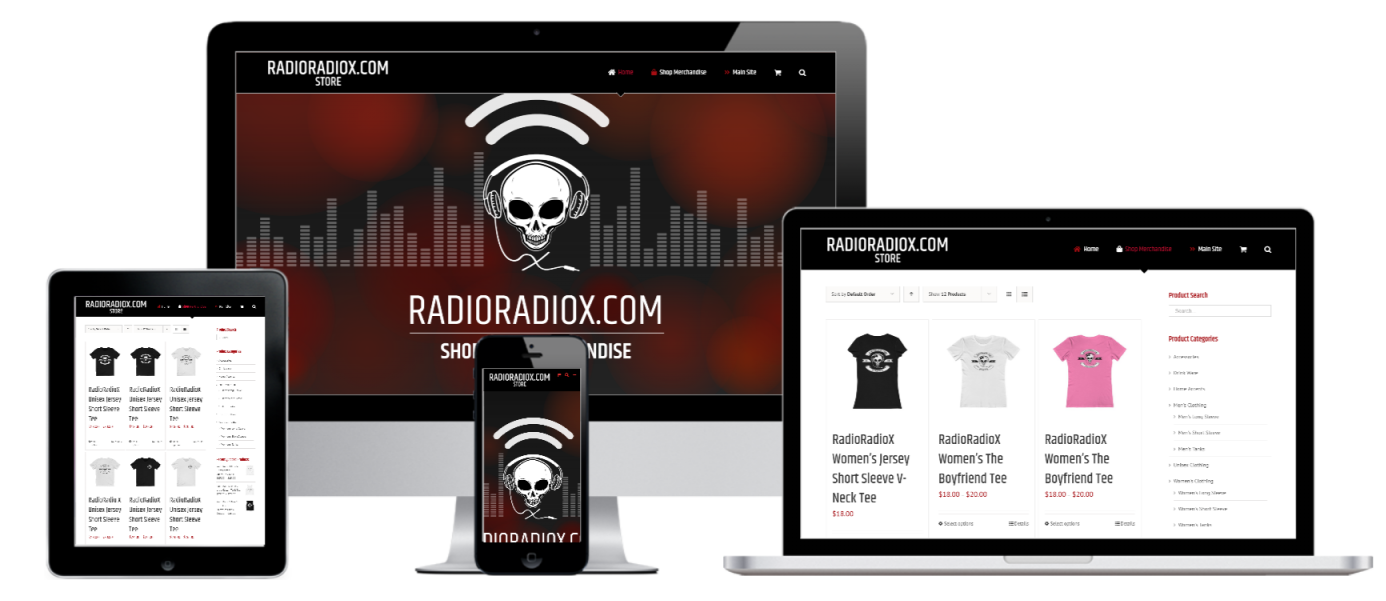 RadioRadiox Online Store Website Design - Capital ePay WooCommerce Credit Card Payment Gateway Plugin