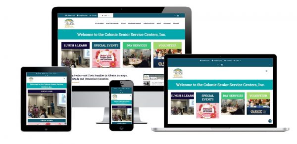 Colonie Seniors Service Center Albany, NY e-commerce payment gateway