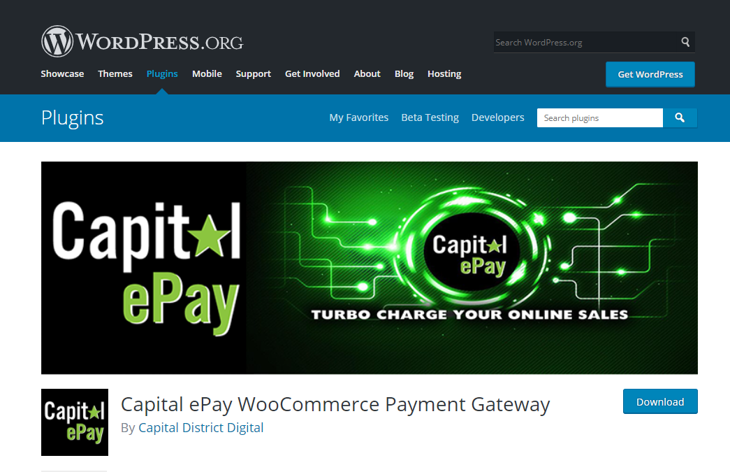 Download Capital ePay Credit Card Payment Gateway