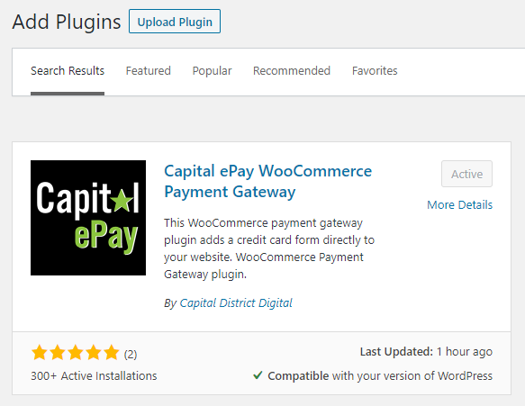 Download Capital ePay WordPress Credit Card Paymant Gateway